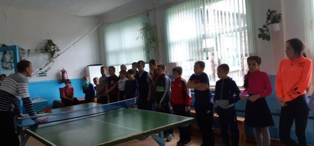 Соревнования понастольному теннису