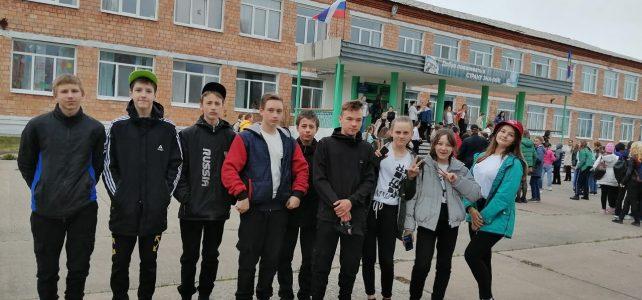 На базе Тинской СШ №3 им.В.Т.Комовича, прошёл III муниципальный Слёт РДШ